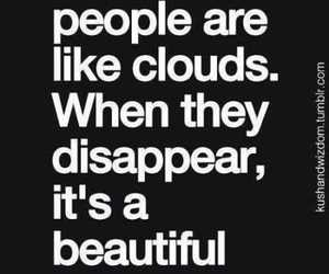 quotes, funny, and clouds image