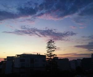 blue, sky, and violet image