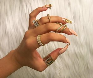 accesories, beuty, and nail image