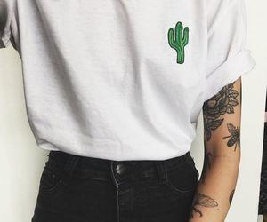 cactus, tattoo, and tumblr image