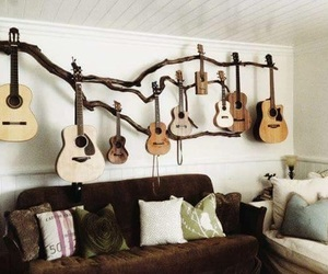 deco, guitarras, and decoracion image