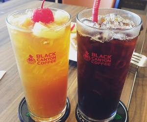 drink, blacktea, and icedrink image