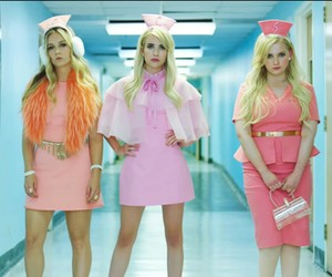 scream queens, chanel oberlin, and emma roberts image