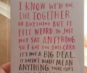 card, love, and valentine image
