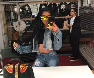 denim, slay, and fashion image