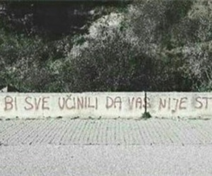 Bosnia, Croatia, and graffiti image