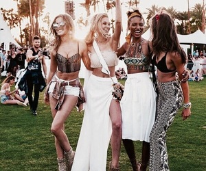 boho, friendship, and friendship goals image