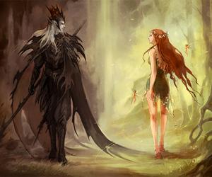 hades, persephone, and fantasy image