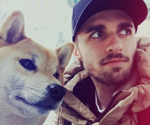 dog, youtube, and squeezie image