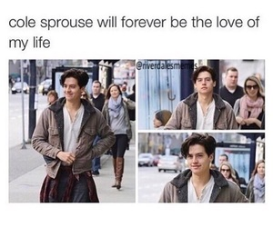 funny and cole sprouse image