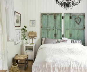 bedroom, cottage, and home decor image