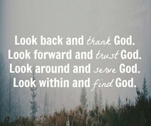 finding, god, and thanks image