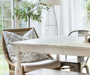 benches, home decor, and dining room image