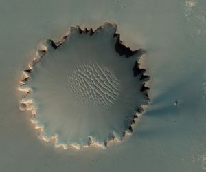 mars and space image
