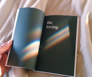 book, aesthetic, and rainbow image