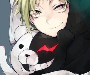 kagerou project, danganronpa, and monokuma image