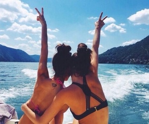 girls, summer, and tumblr image