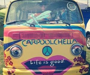 coachella, hippie, and life image