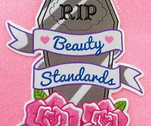 beauty, pink, and grave image