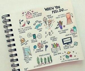 drawing and sad image