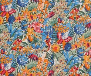 floral, flower, and leaf image