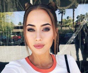 kenza zouiten, beauty, and makeup image