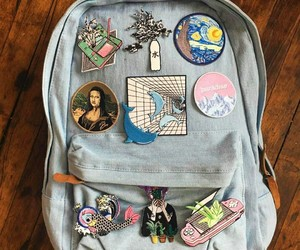 accessories, backpack, and diy image
