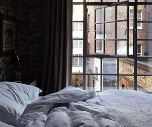 bed, newyork, and bedroom image