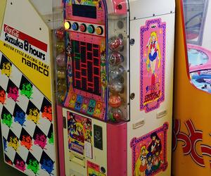 arcade, retro, and sailor moon image