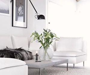 home, white, and inspiration image