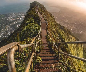 travel, adventure, and hawaii image