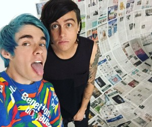 blue, kellin, and awsten image