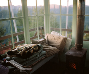 room, grunge, and nature image