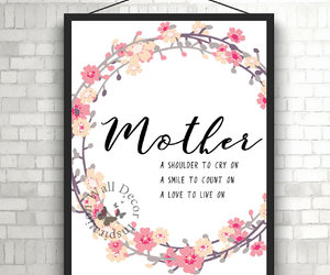 etsy, flowers floral, and mom image