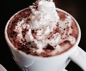 food, drink, and hot chocolate image