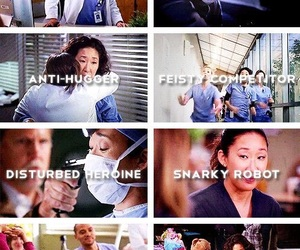 grey's anatomy and christina yang image