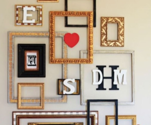 decorations, diy, and picture frames image