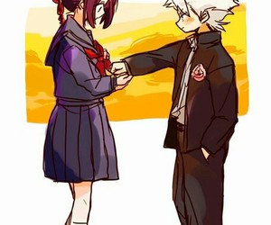 anime, couple, and promise image