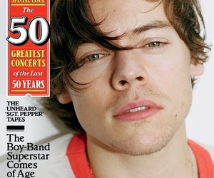 Harry Styles, one direction, and rolling stone image
