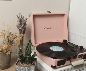 pink and music image