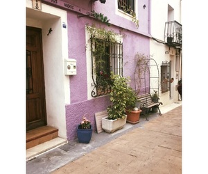 house, purple, and travel image