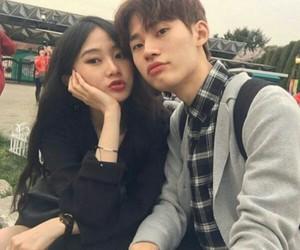 asian boy, couple, and fashion image