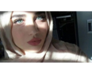 ask, حجاب, and beautiful eyes image