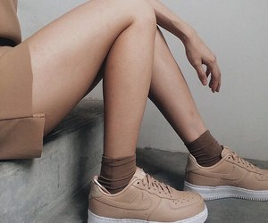 girl, look, and sneakers image