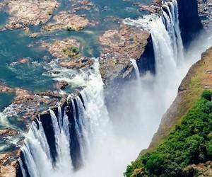 amazing, waterfall, and nature image