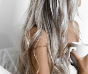 hair silver hairstyle image