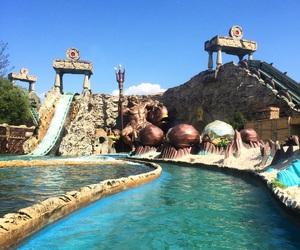 adventure, amusement park, and fun image