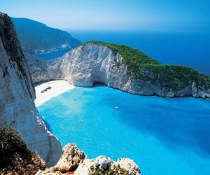 Greece, beach, and sea image