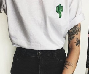 cactus, tattoo, and tumblr image