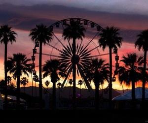coachella and sunset image